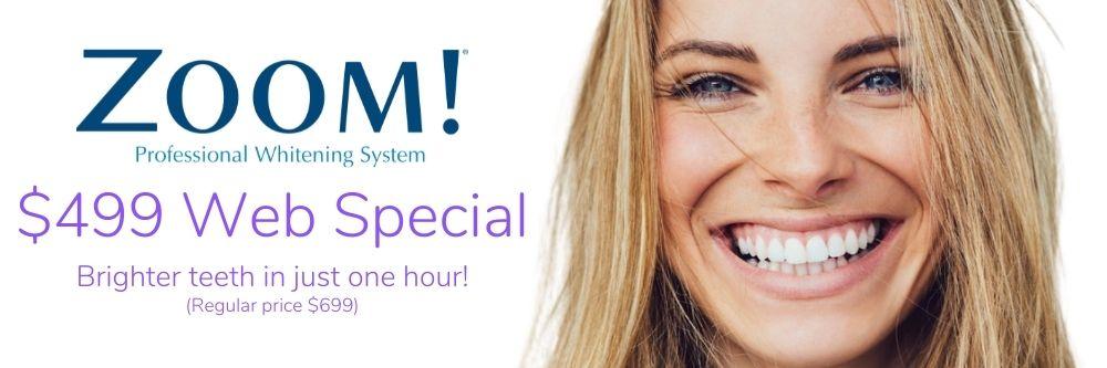 zoom teeth whitening special port washington ny